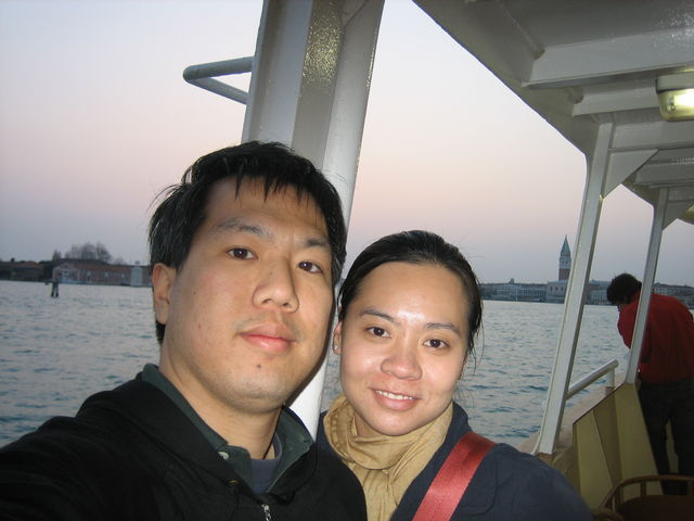 couple on ferry