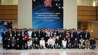 MSRA-KAIST NLP workshop (Korea, 20-22 Feb)